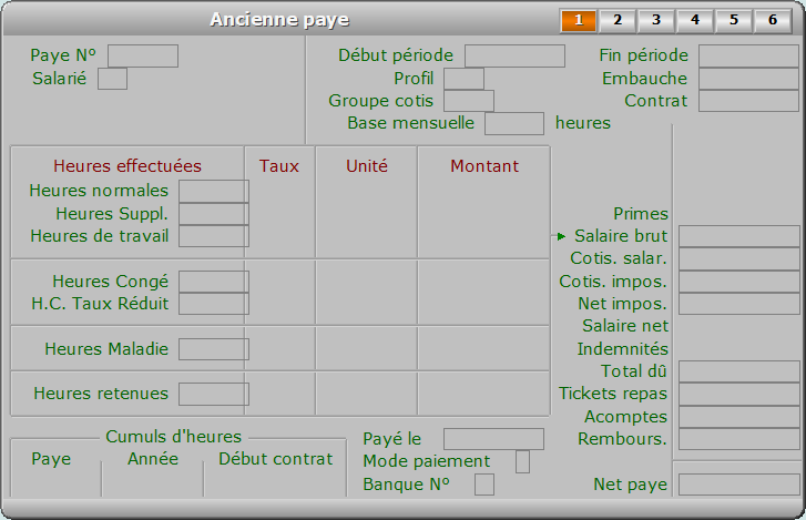 Fiche ancienne paye - page 1 - ICIM PAYE
