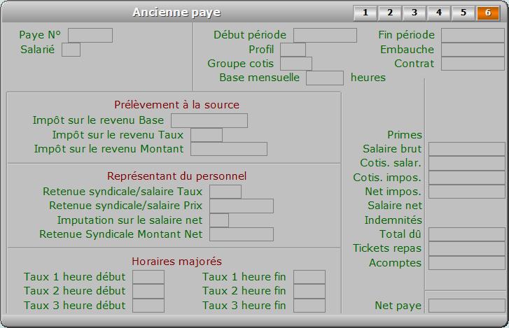 Fiche ancienne paye - page 6 - ICIM PAYE