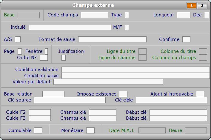 Fiche champs externe - page 1 - ICIM OPTIMUM