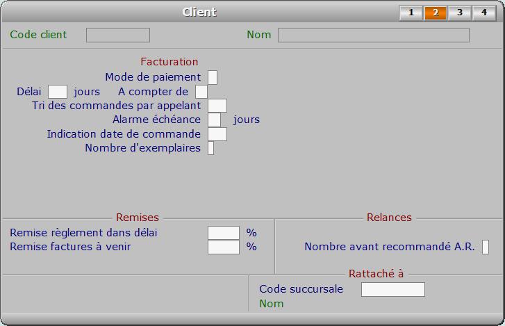 Fiche client - page 2 - ICIM MESSAGERIE