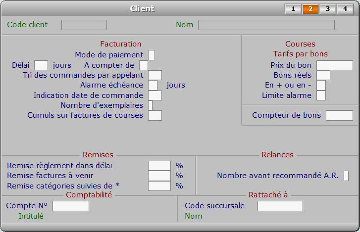 Fiche client - page 2 - ICIM COURSE