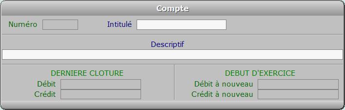 Fiche compte - ICIM COMPTABILITE