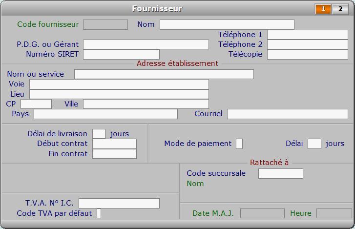 Fiche fournisseur - page 1 - ICIM STOCK