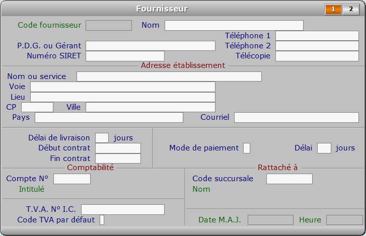Fiche fournisseur - page 1 - ICIM COURSE