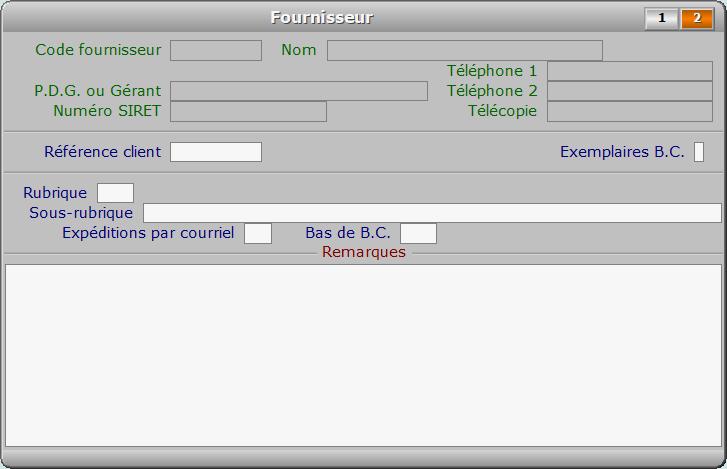 Fiche fournisseur - page 2 - ICIM STOCK
