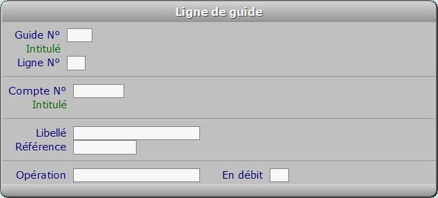 Fiche ligne de guide - ICIM COMPTABILITE