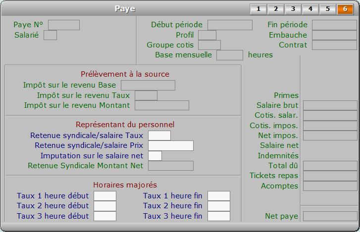 Fiche paye - page 6 - ICIM PAYE