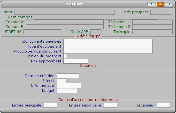 Fiche prospect - page 2 - ICIM PROSPECTION