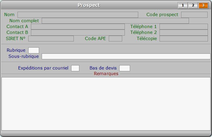 Fiche prospect - page 3 - ICIM PROSPECTION