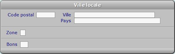 Fiche ville locale - ICIM COURSE